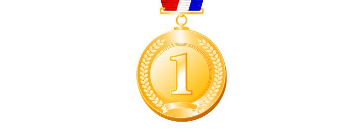 優勝 金メダル