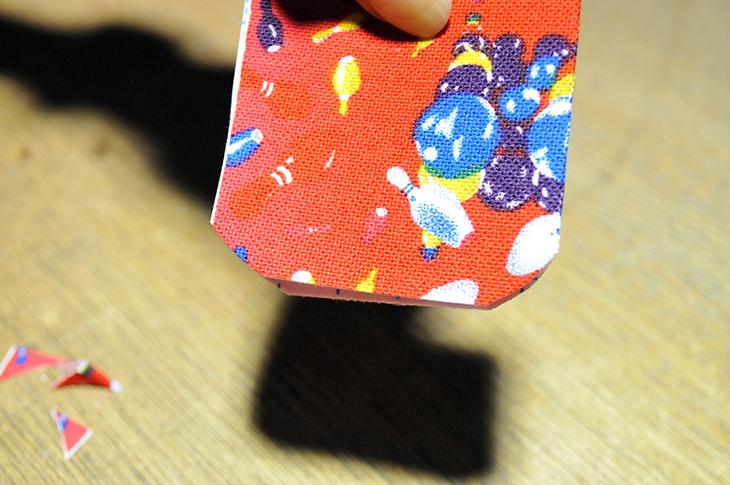 ボウリング テープ カット