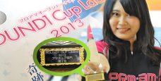 太田朱虹 ROUND1Cup Ladies 2013 ベストアマ