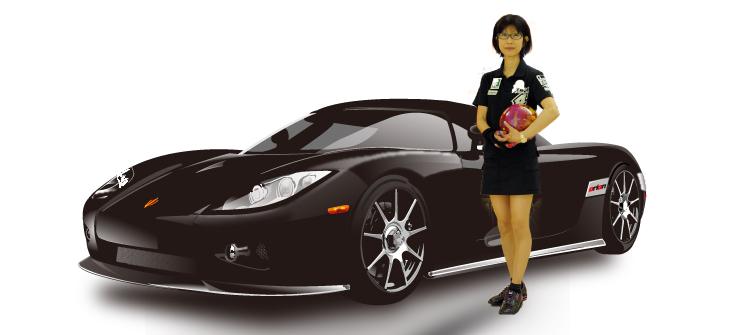 松本妃永 高級車