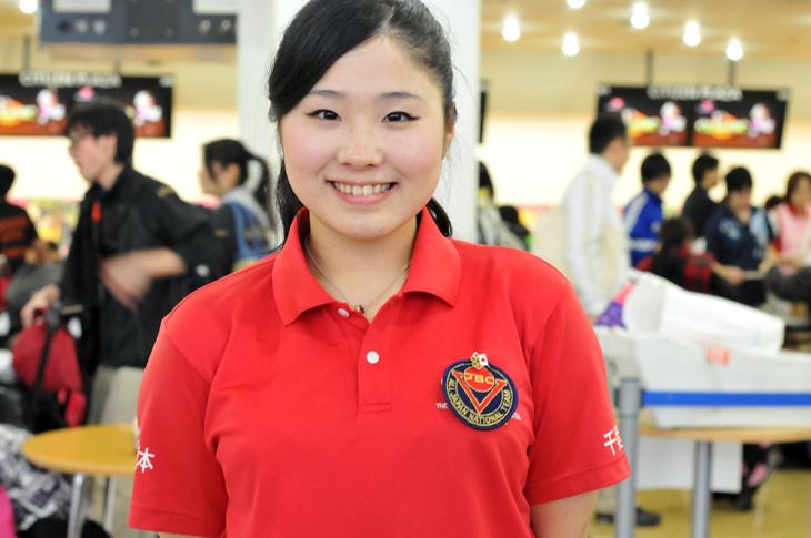 向谷美咲 流通経済大学 ナショナルチーム ボウリング