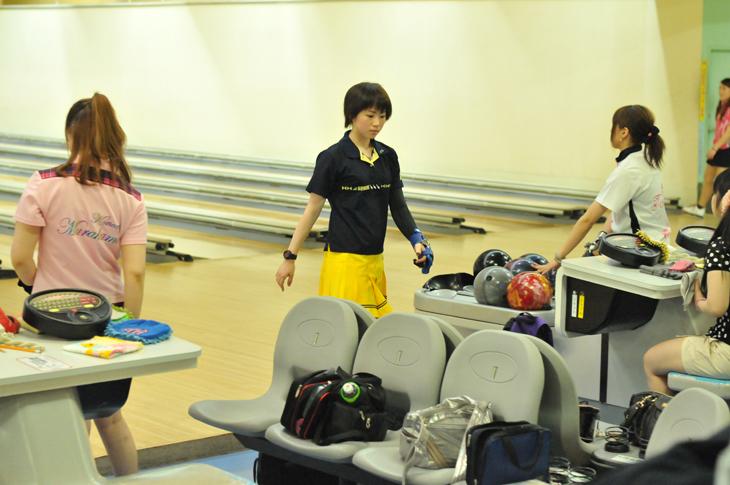 東京ポートボウル 田町 第53回男子・47回女子プロボウラー資格取得テスト 鶴井亜南