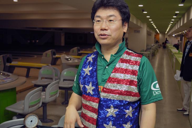 ボウリング プロボウラー 30周年記念大会 丸山高史 トーナメントディレクター