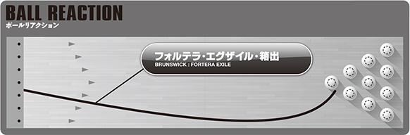 Brunswick Fortera Exile フォルテラ・エグザイル