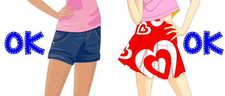 リージョナル スカート