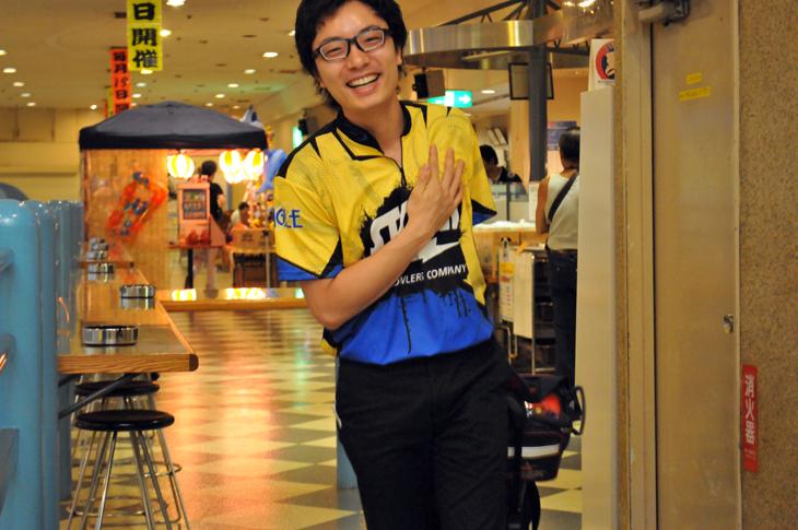渡邉航明 四つ木イーグルボウル ハイスポーツ storm rotogrip