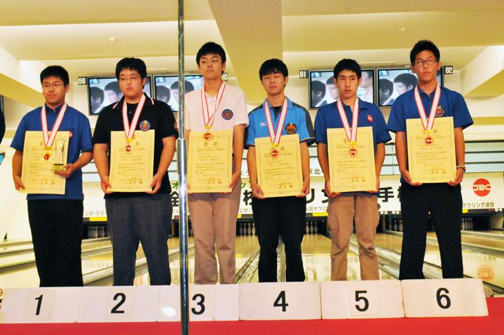 JBC 高校選手権 男子 表彰式