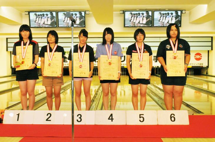 JBC 高校選手権 女子 表彰式