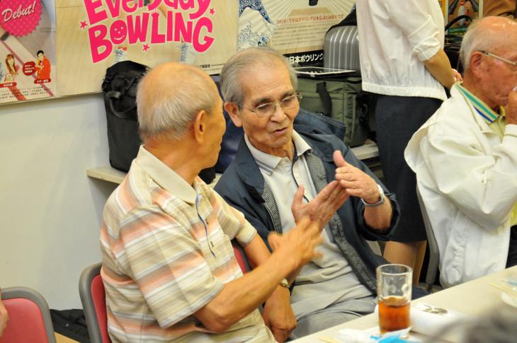 長寿ボウラー ボウリング大会 健康 表彰式