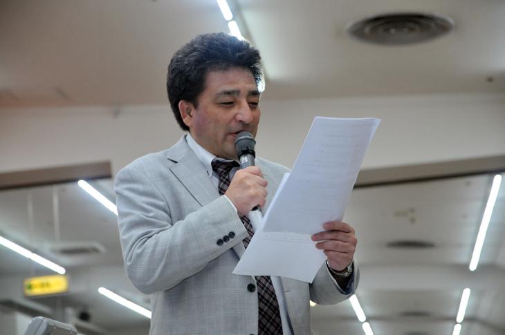 堀口明 トーナメントディレクター 新人戦