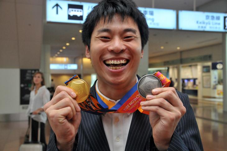 佐々木智之 金メダル
