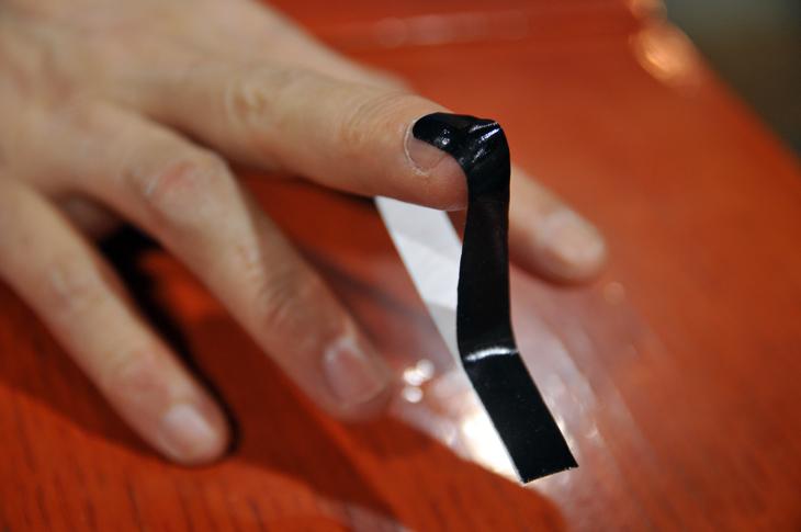 ターボスキン バイオスキン グリップテープ 貼り方 テーピング