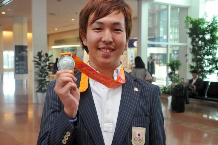 吉田大祐 銀メダル