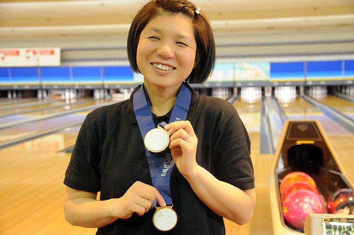 森澤亜希子 金メダル