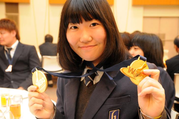 石本美来 金メダル アジアユース