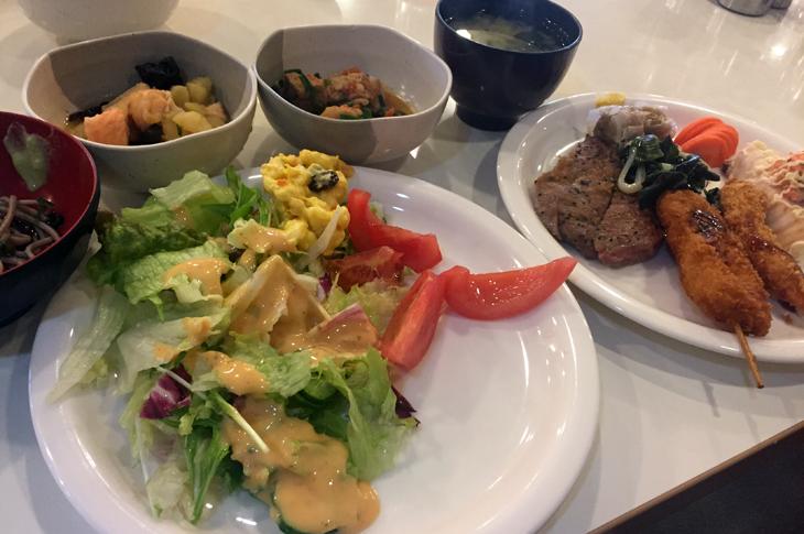 東京ポートボウル レストラン ランチ