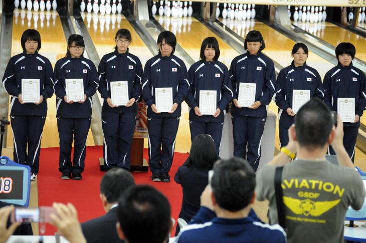 ボウリング 女子ユースナショナルチーム