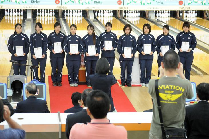 ボウリング 女子ナショナルチーム