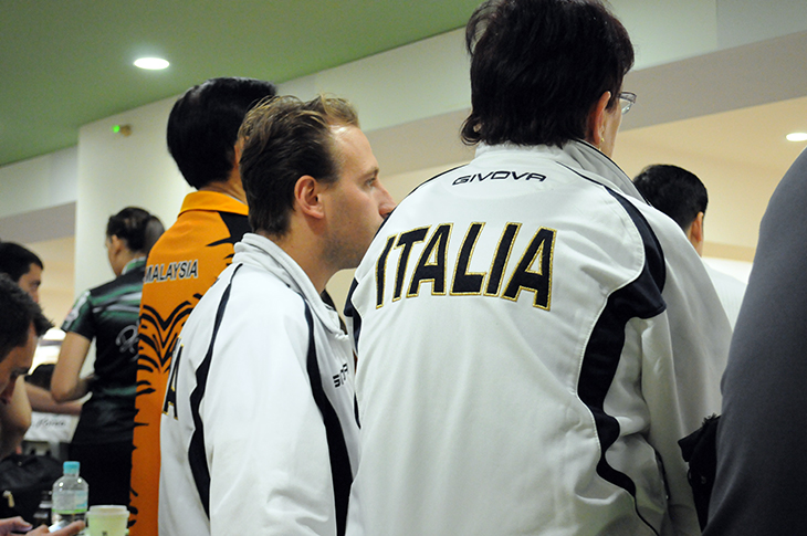 イタリア ボウリング