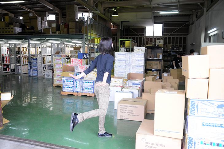 ハイスポーツ 倉庫