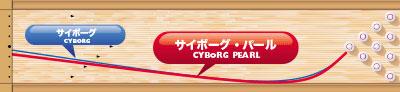 TRACK CYBORG PEARL サイボーグ・パール