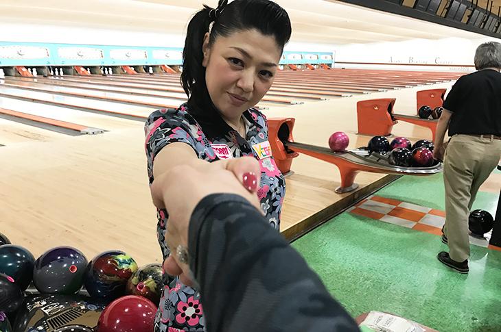 清水弘子 ボウリング