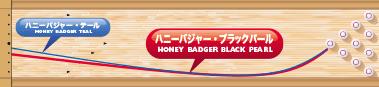 900GLOBAL HONEY BADGER BLACK PEARL ハニーバジャー・ブラックパール