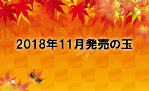 2018年11月 ボール情報