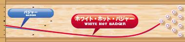 900GLOBAL WHITE HOT BADGER ホワイト・ホット・バジャー