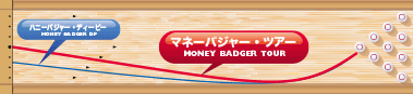900GLOBAL MONEY BADGER TOUR マネーバジャー・ツアー