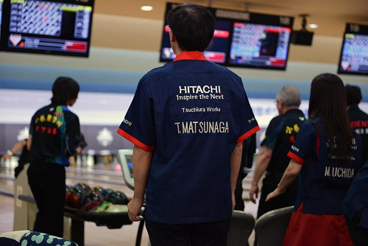 ボウリング HITACHI