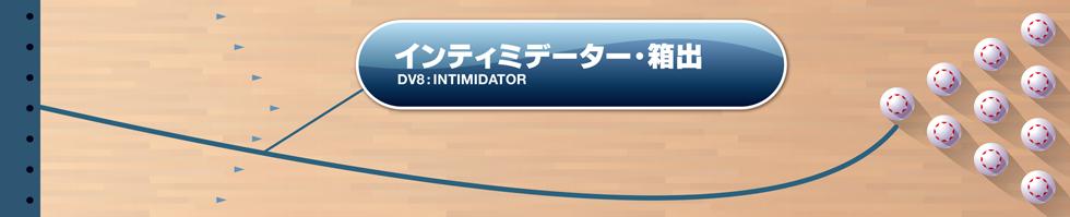 DV8  INTIMIDATOR インティミデーター