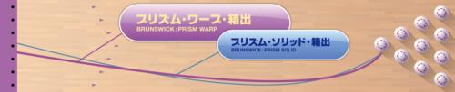 BRUNSWICK PRISM WARP プリズム ワープ