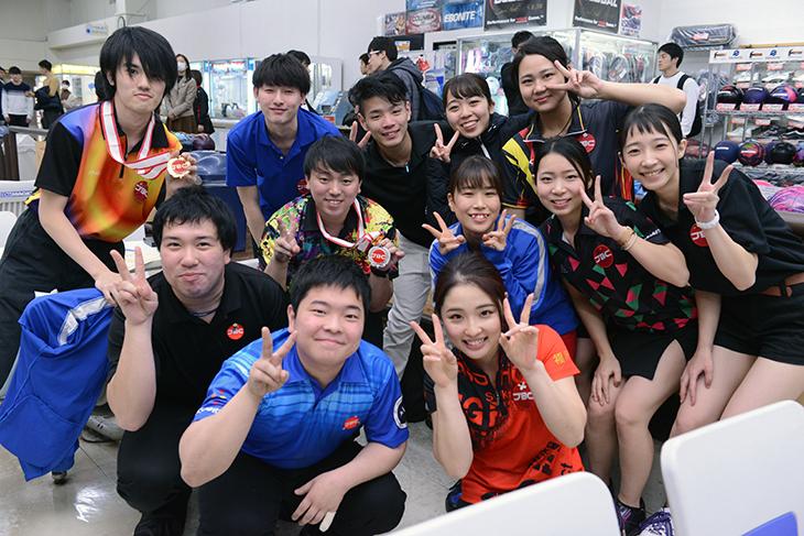 学生連合 ボウリング