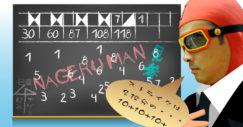 松本先生!何点だかわかりません(・∀・) ボウリングスコア計算方法簡単伝授!